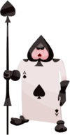 Card Soldier (Ace of Spades) KHX