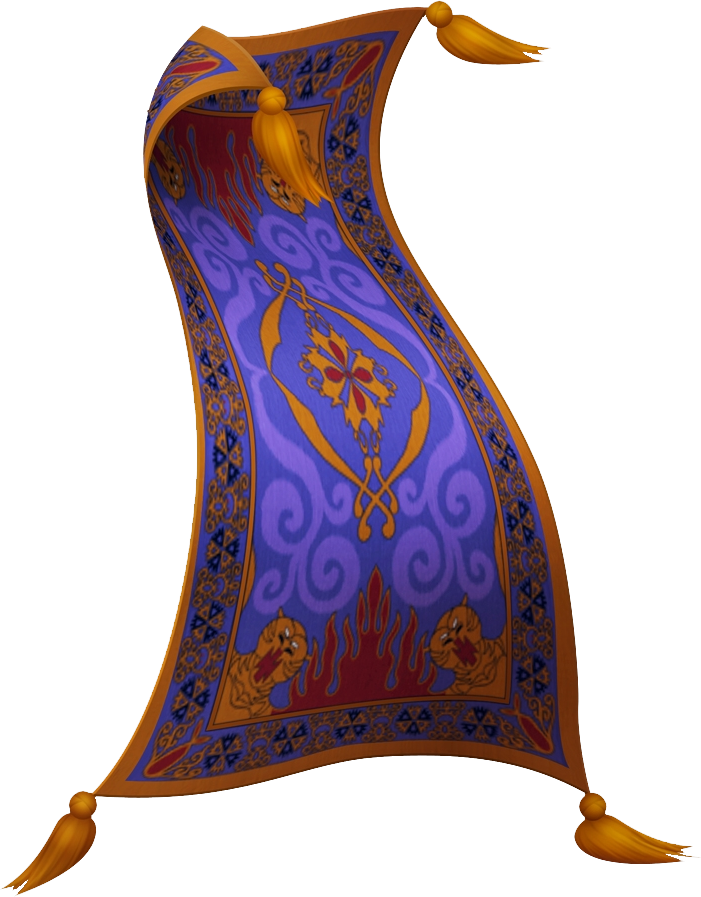 Le tapis volant kingdom hearts wiki fandom powered by for Aladdin and jasmine on carpet silhouette
