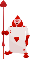Card Soldier (Ace of Hearts) KHX
