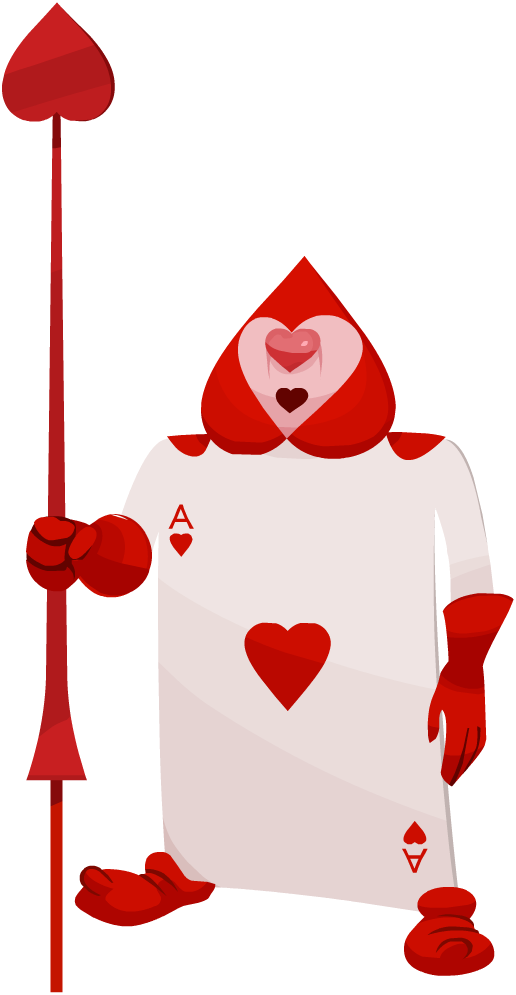 Image - Card Soldier (Ace of Hearts) KHX.png | Kingdom Hearts Wiki ...