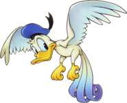 Donald- Bird Form (Art) KHII
