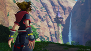 Kingdom Hearts III Rapunzel's Tower