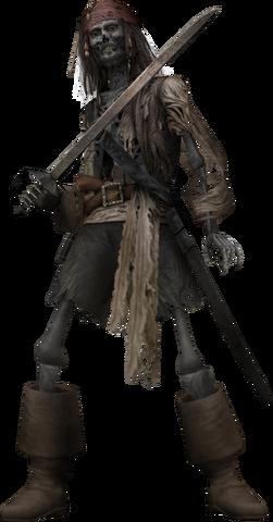File:Cursed Jack Sparrow KHII.png