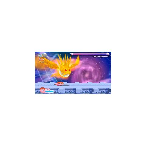 Gran Espectrosfera embistiendo a Kirby