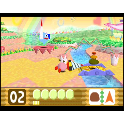 Kirby utilizando Taladro.
