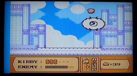 Kirby's Adventure NES Level 4 Boss