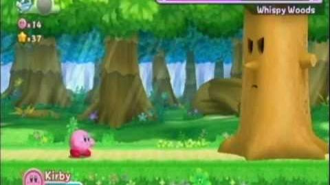Kirby's Return to Dreamland - Cookie Country Vs. Whispy Woods (No Copy Abilities)