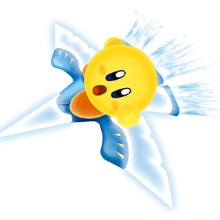 Kirby Amarillo en <a href=