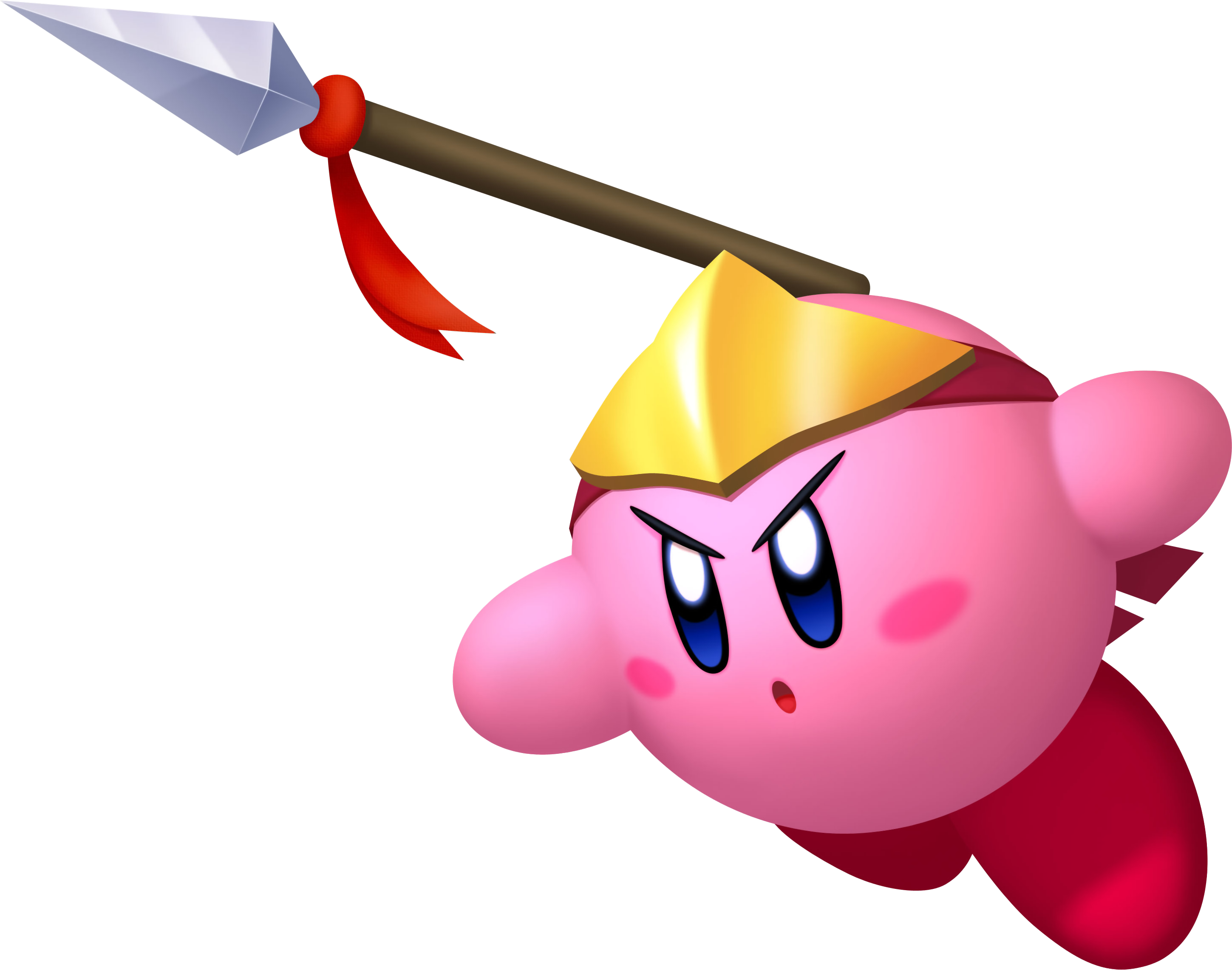 Spear Kirby Vector by shadowgarion on DeviantArt