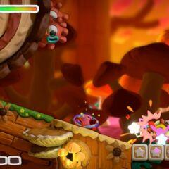 Tanque Kirby causa que Sportle se divida.
