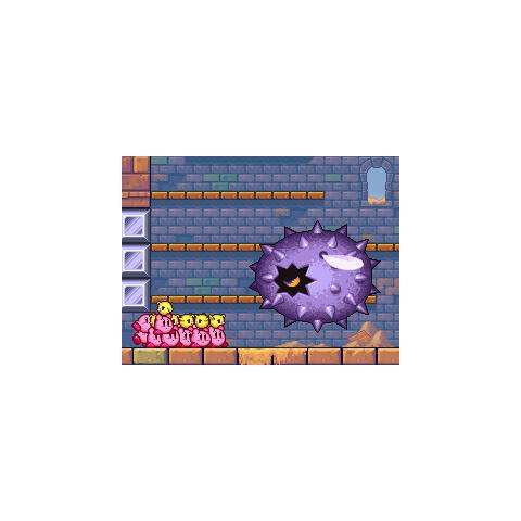 Cascapúas persiguiendo a los Kirby en <a href=