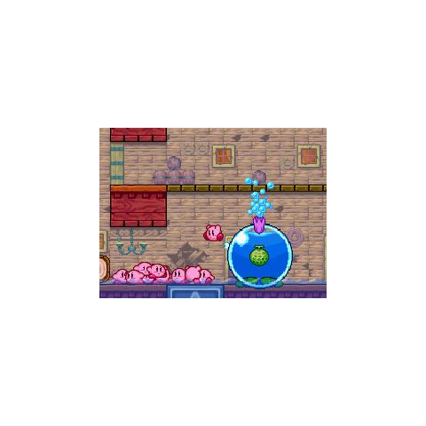 Los Kirbys atacando a Burbuliplán.