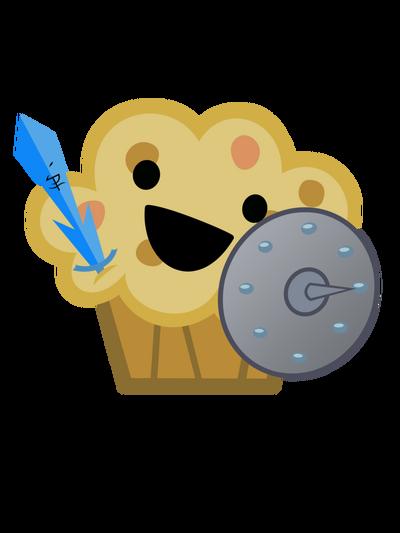 Muffin knight by fluffytuli-d6wpfan