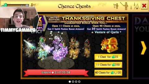 Knights and Dragons - Thanksgiving chests 10X Times Chance!!!