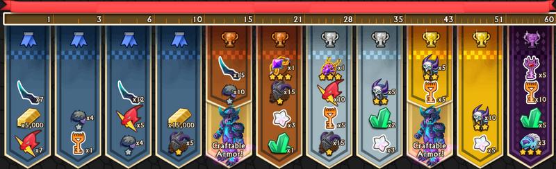 Spiritclaw's Rewards 1-60