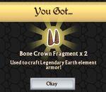 Troll King's Bone Crown Fragments