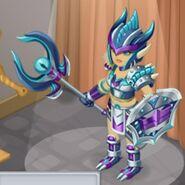 Demon's Carapace Female evo 2 close