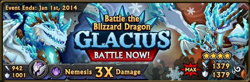 Glacius banner