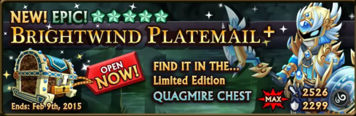 Quagmire Chest Banner