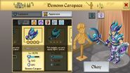 Demon's Carapace Male 2