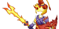 Royal Flame Armor