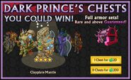 Clayplate Mantle from the Dark Prince's Chest