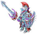 Silver Chromatic Mantle