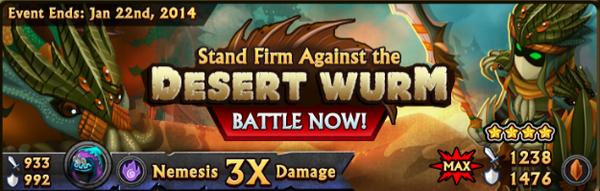 Desert Wurm-BANNER