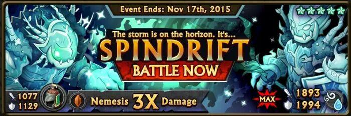 Spindrift Banner
