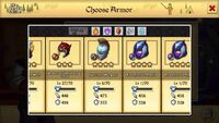 Spartan's Wargear lv6