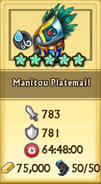Manitou Platemail Armor Stats
