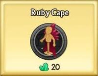 Ruby Cape
