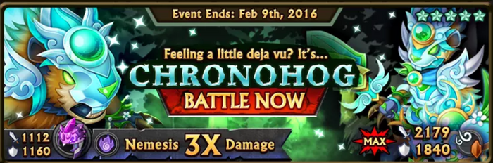 Chronohog's News Banner