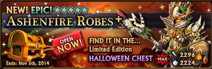 Halloween Chest Banner