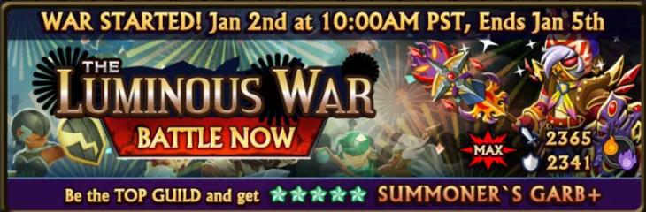 Luminous War Banner