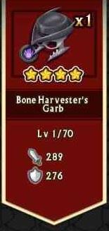 Bone Harvester's Garb from Chest