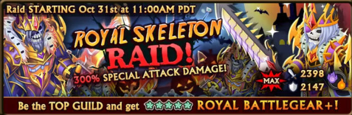 Royal Skeleton Raid Banner