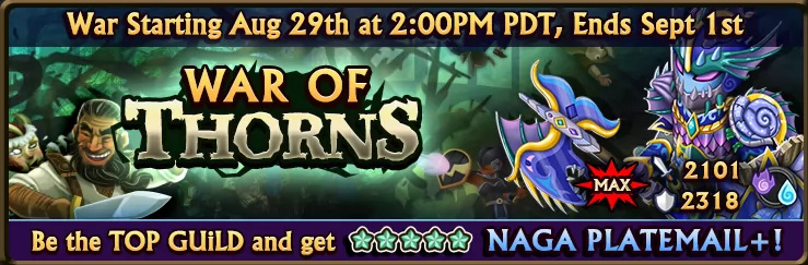 War of Thorns Banner