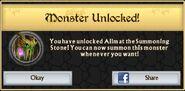 Ailm Boss Unlock
