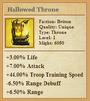Hallowed Throne
