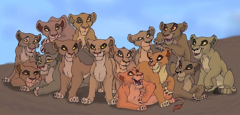 pride löwen