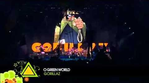 Gorillaz Live @ Glastonbury 2010