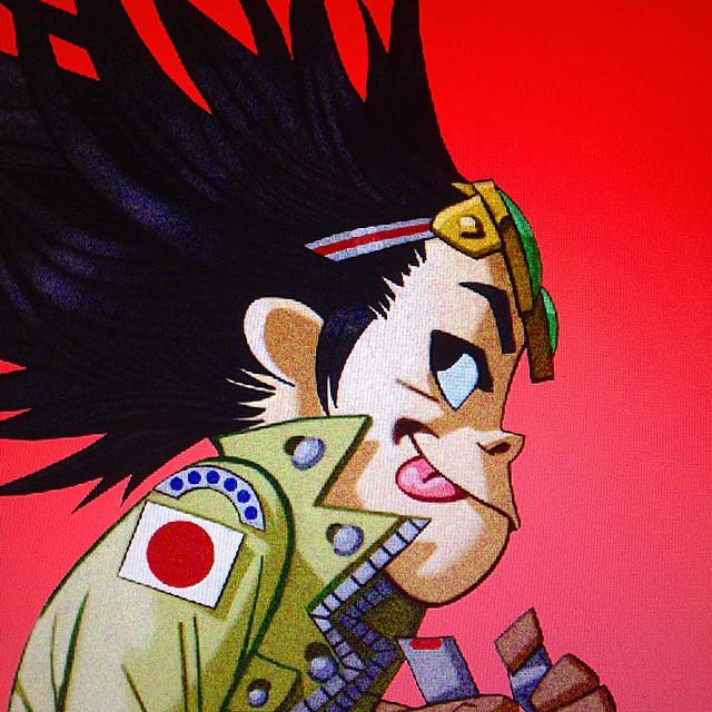 2d Gorillaz Phase 2