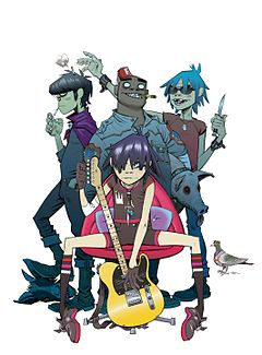 240px-Gorillaz band photo