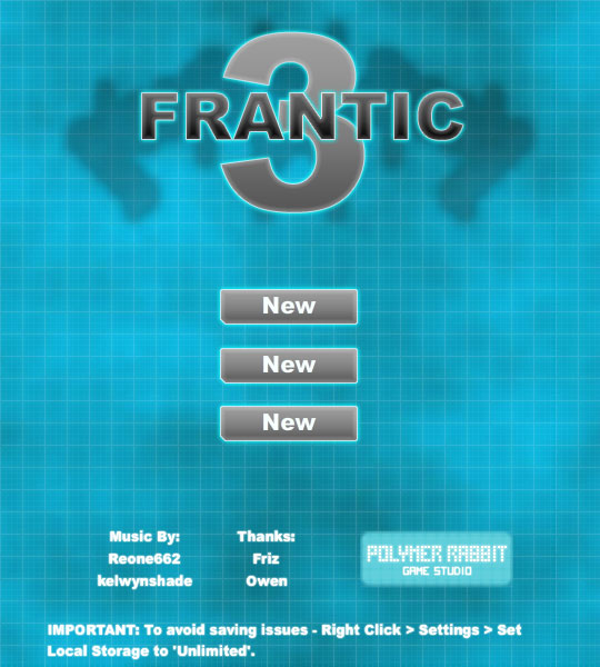 Frantic 3 Hacked / Cheats - Hacked Online Games