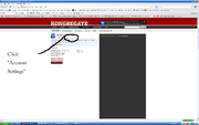 How to stop Kongregate linking to Facebook step 2