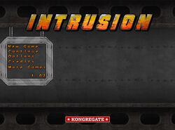 Intrusion-title-screen