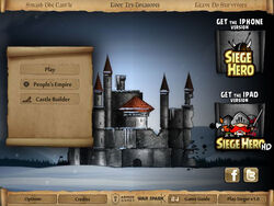 Sieger Level Pack title screen