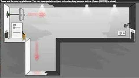Portal- The Flash Version Walkthrough Levels 1-10