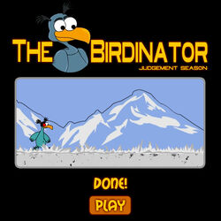 The-Birdinator-title-screen